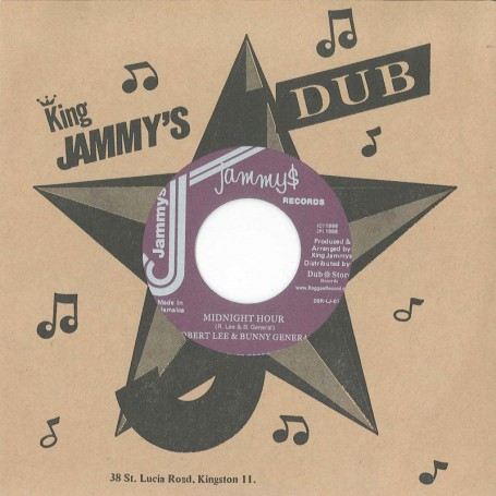 "(7"") ROBERT LEE  & BUNNY GENERAL – MIDNIGHT HOUR / STEELE & CLIEVIE - VERSION"