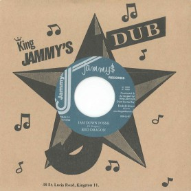 "(7"") RED DRAGON ‎– JAM DOWN POSSE / VERSION"