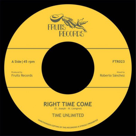 "(7"") TIME UNLIMITED - RIGHT TIME COME / HIGH TIMES PLAYERS - DUB TIME COME"