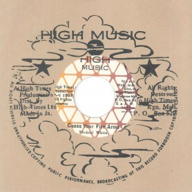 "(7"") MICHEAL WHITE / CLIVE HYLTON ‎– CEASE YOUR FIRE ARMS"