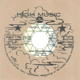 "(7"") ANTHONY CHAMBERS ‎– JAH FOUNDATION / VERSION"