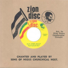 "(7"") SONS OF NEGUS ‎– RUN COME RALLY / ALL YE SAINTS"