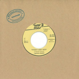 "(7"") TAPPER ZUKIE ‎– RAGGY JOEY BOY / VERSION"