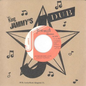 "(7"") CHUCK TURNER ‎– AH NO ME SHE LOVE"