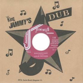 "(7"") LESLIE THUNDER – RAM DANCE MAN / STEELIE & CLEAVIE - VERSION"