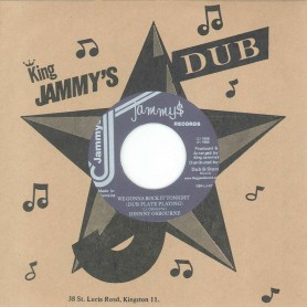 "(7"") JOHNNY OSBOURNE ‎– WE GONNA ROCK IT TONIGHT (DUB PLATE PLAYING) / VERSION"