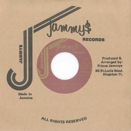 "(7"") CHUCK TURNER ‎– WE RULE THE DANCEHALL / VERSION"