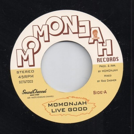 "(7"") MOMONJAH - LIVE GOOD / COLLIE DOG"