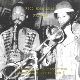 "(10"") RICO RODRIGUEZ & FRIENDS - UNRELEASED EARLY RECORDINGS: SHUFFLE AND BOOGIE 1960"
