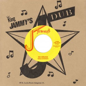 "(7"") TINGA STEWART - NO DRUGS / ECHO MINOTT ‎– TROUBLE NOBODY"