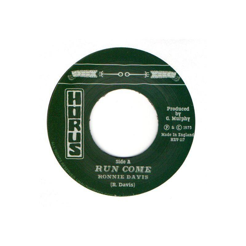 """(7"""") RONNIE DAVIS - RUN COME / HORUS - DUB VERSION"""