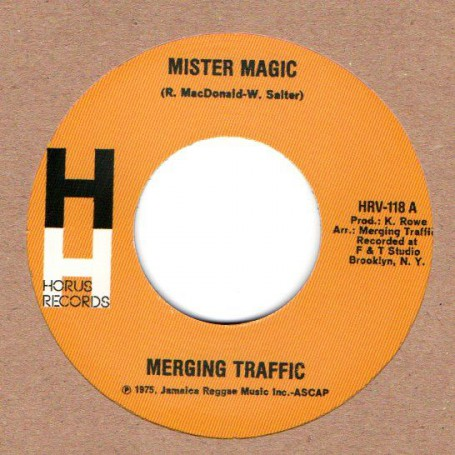 "(7"") MERGING TRAFFIC - MISTER MAGIC / TONIGHT"