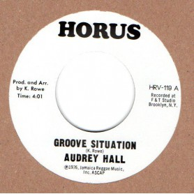 "(7"") AUDREY HALL - GROOVE SITUATION / J. R. M. ORCHESTRA - SITUATION"