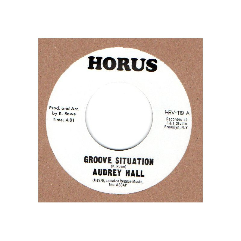 """(7"""") AUDREY HALL - GROOVE SITUATION / J. R. M. ORCHESTRA - SITUATION"""