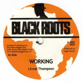 "(7"") LINVAL THOMPSON - WORKING MAN / VERSION"
