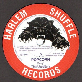 "(7"") THE UPSETTERS - POPCORN / DAVE BARKER & THE UPSETTERS - TIGHT SPOT"