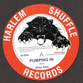 "(7"") ALTON ELLIS - PUMPING IN / KNOCK ON WOOD"