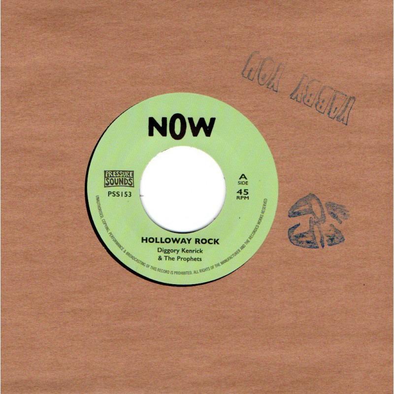 "(7"") DIGGORY KENRICK & THE PROPHETS - HOLLOWAY ROCK / VERSION"