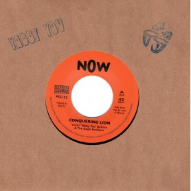 "(7"") VIVIAN ""YABBY YOU"" JACKSON & THE RALPH BROTHERS - CONQUERING LION"