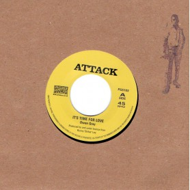 """(7"""") OWEN GRAY WITH BOBBY ELLIS & VAL BENNET - IT'S TIME FOR LOVE / THE ARABIAN SOUND OF REGGAE"""