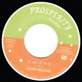 "(7"") DELROY WILLIAMS - SCARS OF WAR"