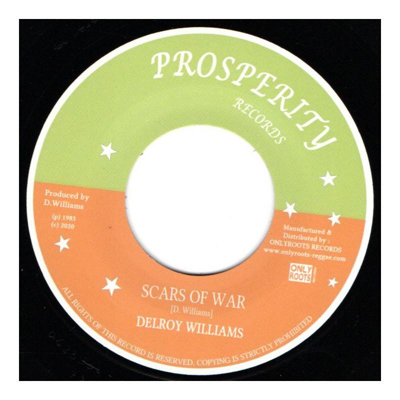 "(7"") DELROY WILLIAMS - SCARS OF WAR"