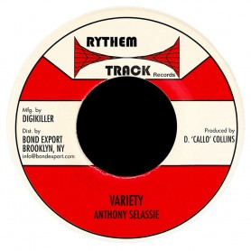 "(7"") ANTHONY SELASSIE - VARIETY / VERSION"