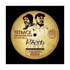 """(12"""") TETRACK - THAT DAY WILL COME / EBENE - PINK CLOUDS"""