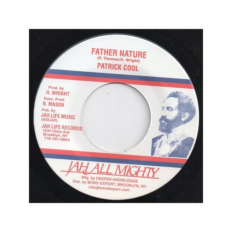 """(7"""") PATRICK COOL - FATHER NATURE / DUB"""