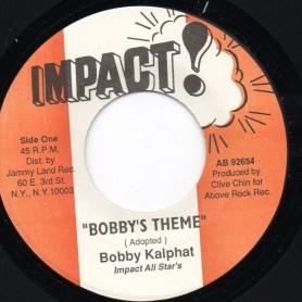 "(7"") BOBBY KALPHAT - BOBBY'S THEME"