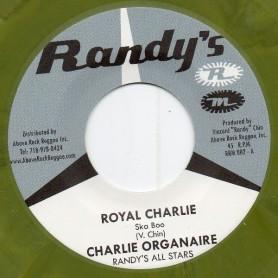"(7"") CHARLIE ORGANAIRE - ROYAL CHARLIE / SKATALITES - COLLIE BUD"