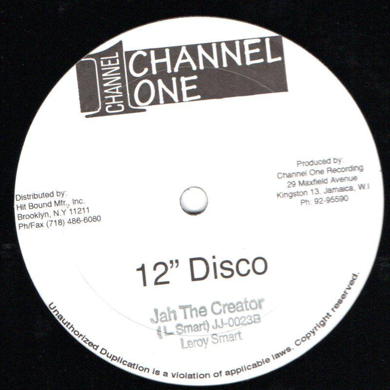 "(12"") LEROY SMART - JAH THE CREATOR / LOVE CAN GROW"