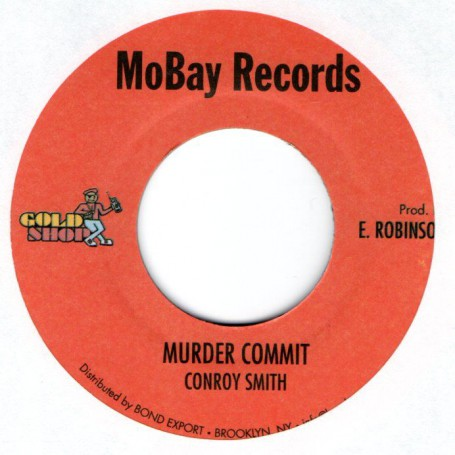 "(7"") CONROY SMITH - MURDER COMMIT / VERSION"