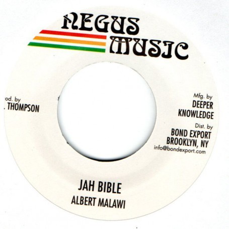 """(7"""") ALBERT MALAWI - JAH BIBLE / VERSION"""