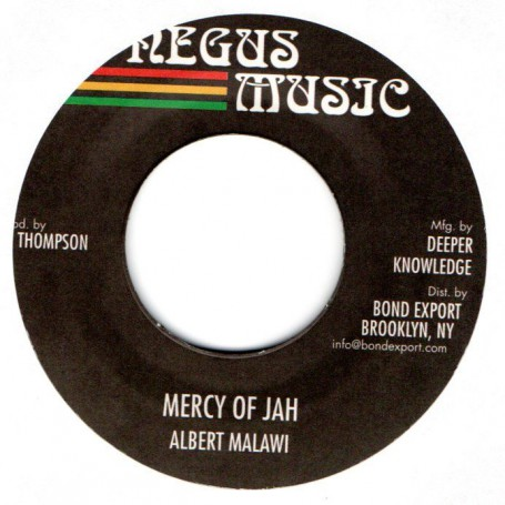 "(7"") ALBERT MALAWI - MERCY OF JAH / VERSION"