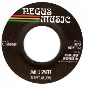 "(7"") ALBERT MALAWI - JAH IS SWEET / VERSION"