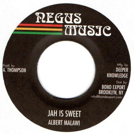 "(7"") ALBERT MALAWI - JAH IS SWEET / VERSION"
