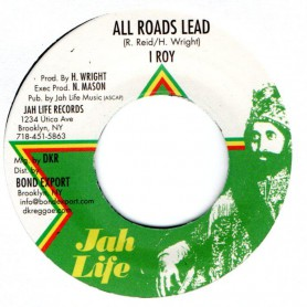 "(7"") I ROY - ALL ROADS LEAD / EASY DUB"