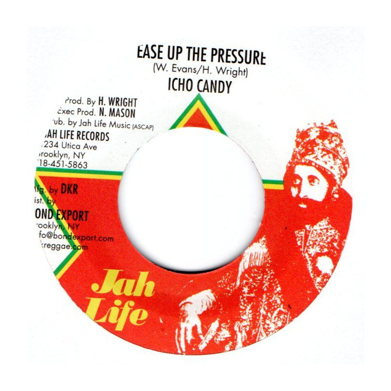 "(7"") ICHO CANDY - EASE UP THE PRESSURE / EASY DUB"