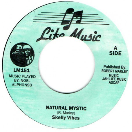 "(7"") SKELLY VIBES - NATURAL VIBES / VERSION"