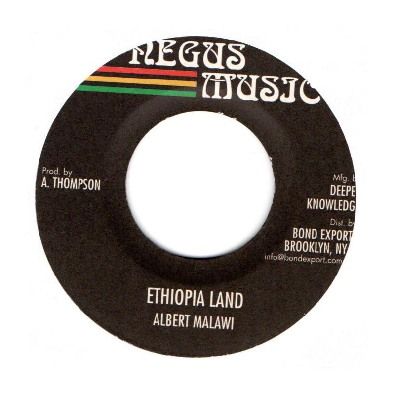 """(7"""") ALBERT MALAWI - ETHIOPIA LAND / VERSION"""