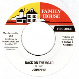 "(7"") JOHN PIPER - BACK ON THE ROAD / VERSION"
