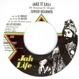 "(7"") JUNIOR BRAMMER - TAKE IT EASY / EASY DUB"