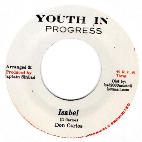 "(7"") DON CARLOS - ISABEL / BILLY BOYO - ONE MORNING"