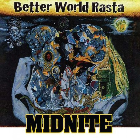 (2xLP) MIDNITE - BETTER WORLD RASTA