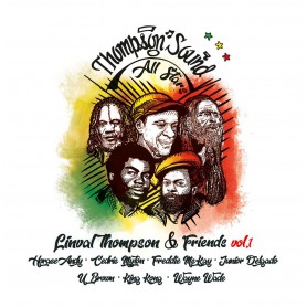 (LP) VARIOUS ARTISTS - LINVAL THOMPSON & FRIENDS VOL.1 : Horace Andy, Cedric Myton, Freddie McKay, Jr Delgado...
