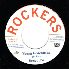 "(7"") BONGO PAT - YOUNG GENERATION / AUGUSTUS PABLO - NEW STYLE"