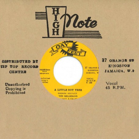 "(7"") THE MELODIANS - A LITTLE NUT TREE / YOU ARE MY ONLY LOVE"