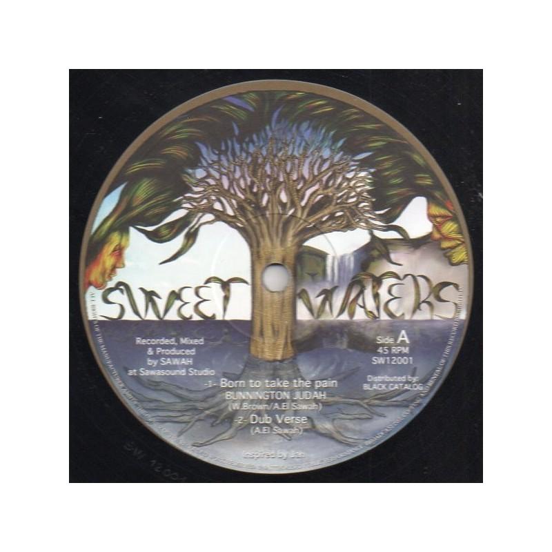 """(12"""") BUNNINGTON JUDAH - BORN TO TAKE THE PAIN / SOUL MATE - STONE"""