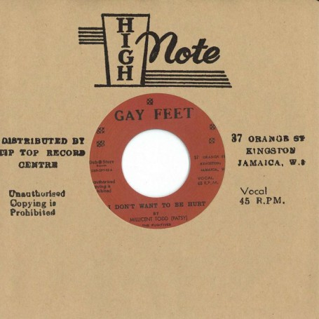 "(7"") MILLICENT TODD (PATSY) ‎– I DON'T WANT TO BE HURT / STRANGER & PATSY - CERTIFY MY LOVE"